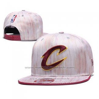 Casquette Cleveland Cavaliers Snapback Rosa
