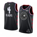 Maillot All Star 2019 Indiana Pacers Victor Oladipo #4 Noir