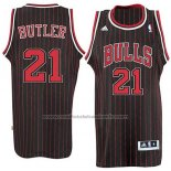 Maillot Chicago Bulls Jimmy Butler #21 Retro Noir