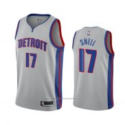 Maillot Detroit Pistons Tony Snell #17 Statement 2020-21 Gris