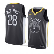 Maillot Golden State Warriors Alfonzo Mckinnie #28 Statement 2018 Noir