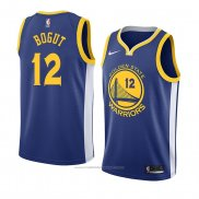 Maillot Golden State Warriors Andrew Bogut #12 Icon 2018 Bleu