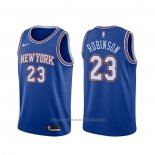Maillot New York Knicks Mitchell Robinson #23 Statement 2019-20 Bleu