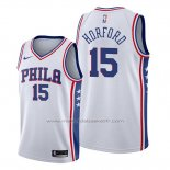 Maillot Philadelphia 76ers Al Horford #15 Association Blanc