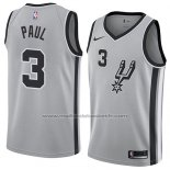 Maillot San Antonio Spurs Brandon Paul #3 Statement 2018 Gris