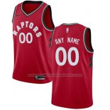 Maillot Toronto Raptors Personnalise 17-18 Rouge