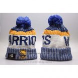 Bonnet Golden State Warriors Bleu Blanc