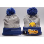 Bonnet Golden State Warriors Bleu Gris