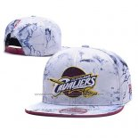 Casquette Cleveland Cavaliers Snapback Blanc