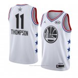 Maillot All Star 2019 Golden State Warriors Klay Thompson #11 Blanc
