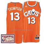 Maillot Cleveland Cavaliers Tristan Thompson #13 Retro Orange