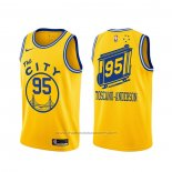 Maillot Golden State Warriors Juan Toscano-Anderson #95 Classic Or