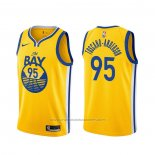 Maillot Golden State Warriors Juan Toscano-Anderson #95 Statement Or