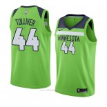 Maillot Minnesota Timberwolves Anthony Tolliver #44 Statement 2017-18 Vert