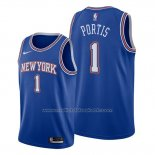 Maillot New York Knicks Bobby Portis #1 Statement Bleu