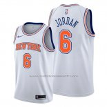 Maillot New York Knicks Deandre Jordan #6 Statement Blanc