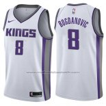 Maillot Sacramento Kings Bogdan Bogdanovic #8 Association 2017-18 Blanc