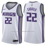 Maillot Sacramento Kings Bruno Caboclo #22 Association 2017-18 Blanc