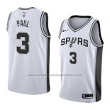 Maillot San Antonio Spurs Brandon Paul #3 Association 2018 Blanc
