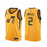 Maillot Utah Jazz Joe Ingles #2 Statement Jaune