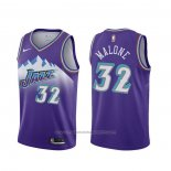 Maillot Utah Jazz Karl Malone #32 Classic Edition 2019-20 Volet