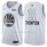 Maillot All Star 2018 Golden State Warriors Klay Thompson #11 Blanc