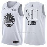 Maillot All Star 2018 Golden State Warriors Stephen Curry #30 Blanc