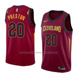 Maillot Cleveland Cavaliers Billy Preston #20 Icon 2018 Rouge
