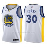 Maillot Enfant Golden State Warriors Stephen Curry #30 Blanc