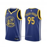 Maillot Golden State Warriors Juan Toscano-Anderson #95 Icon Bleu