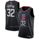 Maillot Los Angeles Clippers Blake Griffin #32 Statement 2017-18 Noir