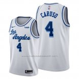 Maillot Los Angeles Lakers Alex Caruso #4 Classic Edition 2019-20 Blanc
