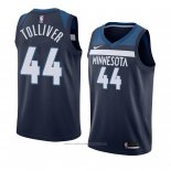 Maillot Minnesota Timberwolves Anthony Tolliver #44 Icon 2018 Bleu