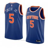 Maillot New York Knicks Dennis Smith Jr. #5 Icon 2018 Bleu