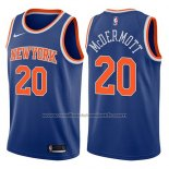 Maillot New York Knicks Doug McDermott #20 Icon 2017-18 Bleu