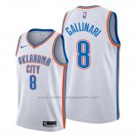 Maillot Oklahoma City Thunder Danilo Gallinari #8 Association Blanc