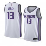 Maillot Sacramento Kings Alec Burks #13 Association 2018 Blanc
