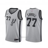 Maillot San Antonio Spurs Demarre Carroll #77 Statement 2019-20 Gris