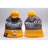 Bonnet Golden State Warriors Gris Jaune