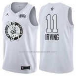 Maillot All Star 2018 Boston Celtics Kyrie Irving #11 Blanc