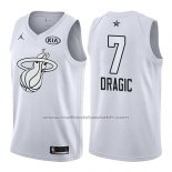 Maillot All Star 2018 Miami Heat Goran Dragic #7 Blanc