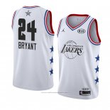 Maillot All Star 2019 Los Angeles Lakers Kobe Bryant #24 Blanc