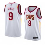 Maillot Cleveland Cavaliers Channing Frye #9 Association 2018 Blanc