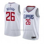 Maillot Los Angeles Clippers Angel Delgado #26 Association 2018 Blanc