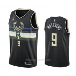 Maillot Milwaukee Bucks Wesley Matthews #9 Statement 2020-21 Noir