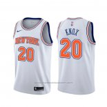 Maillot New York Knicks Kevin Knox #20 Statement Blanc