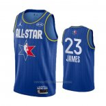 Maillot All Star 2020 Los Angeles Lakers LeBron James #23 Bleu