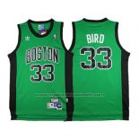 Maillot Boston Celtics Larry Bird #33 Retro Vert3