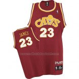Maillot Cleveland Cavaliers LeBron James #23 Retro 2008 Rouge