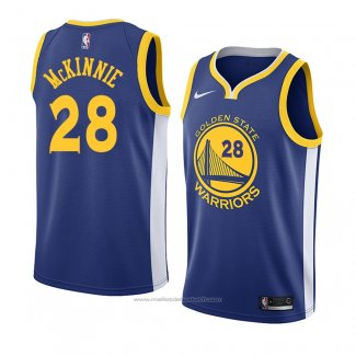 Maillot Golden State Warriors Alfonzo Mckinnie #28 Icon 2018 Bleu